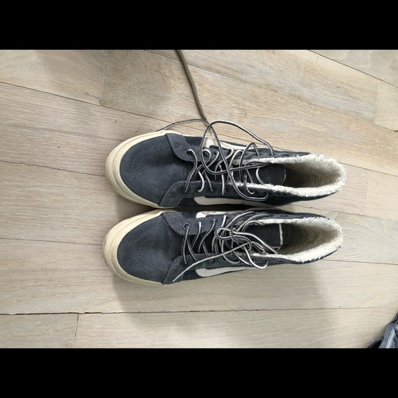 Vans Shoes | Fuzzy High Top | Poshmark